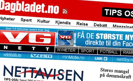 Aviser online utkonkurrerer papiravisene