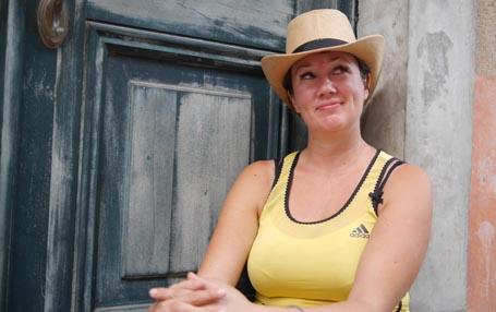 Kristine Storli Henningsen vil hjelpe deg til å bli uperfekt. Foto: Marit Reiersgård.