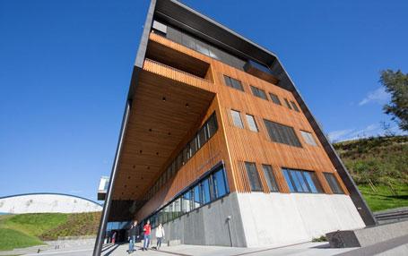 Frå HVL i Sogndal. Foto: HVL