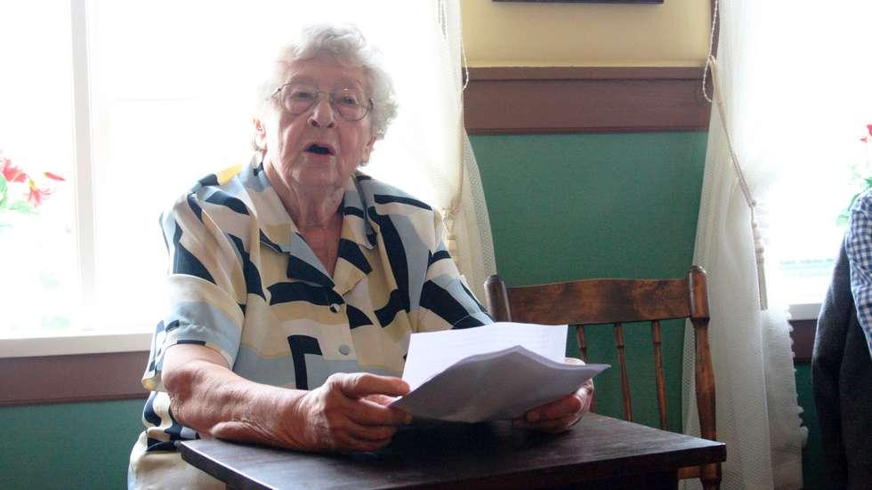 85 års dikt Marie (85) rører tusenvis på Facebook 85 års dikt