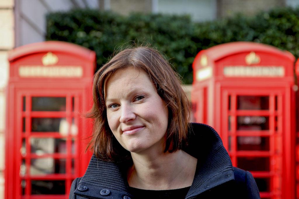 Forfattar Agnes Ravatn er i London i samband med at suksessromanen hennar «Fugletribunalet» blir lansert på engelsk. Foto: Emil Mohr / NTB scanpix / NPK
