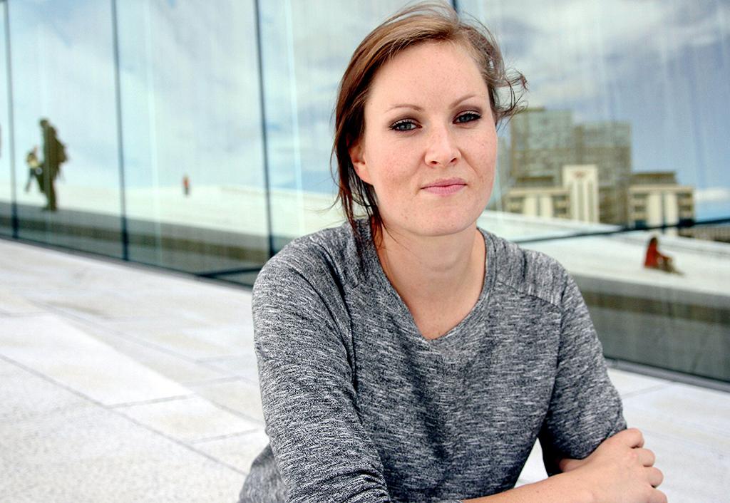 Forfattar Agnes Ravatn har suksess i utlandet. FOTO: Andrea Øien Sæverud / NPK