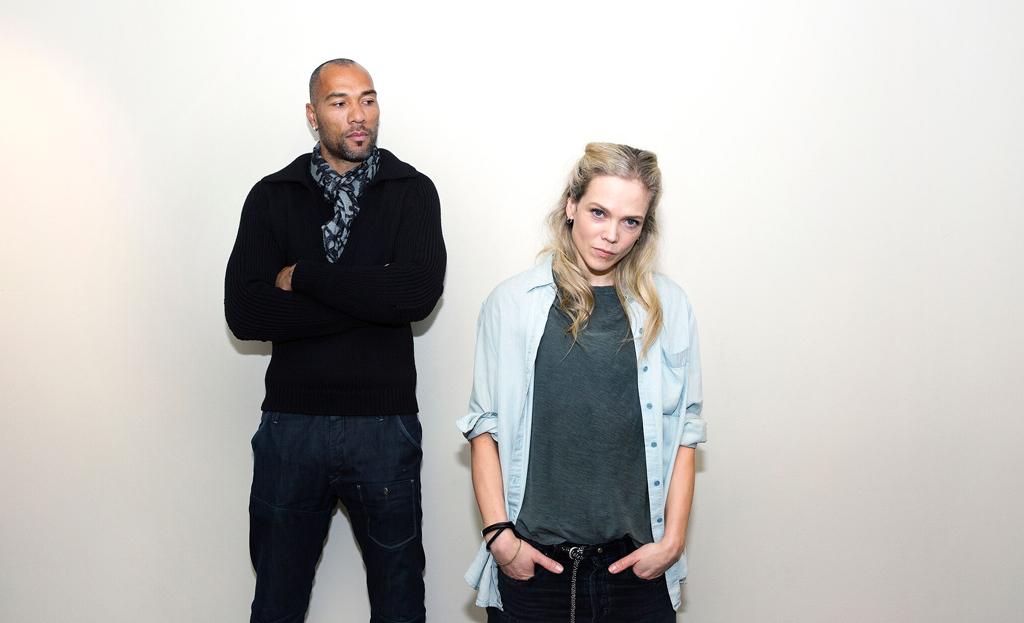 John Carew og Ane Dahl Torp er med i tv-serien Heimebane. Foto: Julia Maria Naglestad/NRK