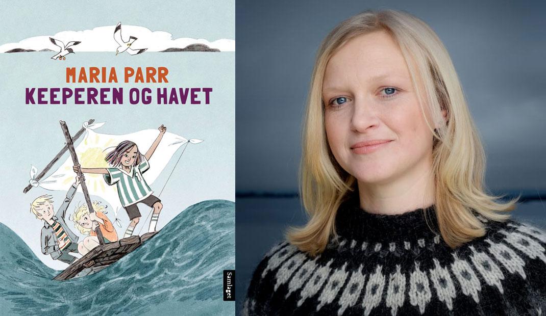 Maria Parr kjem med si tredje bok i august. Foto: Samlaget/Agnete Brun