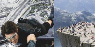Kinosjefen i Ryfylke vil ha verdspremieren på Mission Impossible til Preikestolen.
