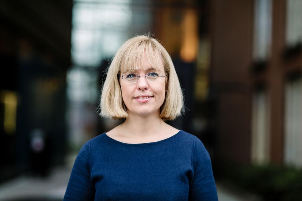 Språkdirektør Åse Wetås er kritisk til helsespråket i Helse Bergen. Foto: Språkrådet