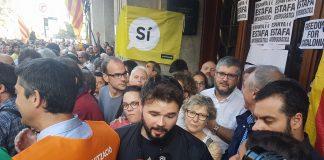 Sjølvstende for Catalonia er ein måte å fjerne restane av den fascistiske fortida, meiner Gabriel Rufián Romero, leiar for venstrepartiet ERC.