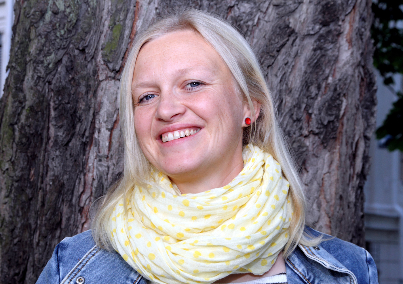 Maria Parr kan gle seg over stor interesse for den siste boka si både her heime og i utlandet. Foto: Margunn Sundfjord / NPK