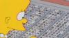 I ein episode frå den amerikanske TV-serien «The Simpsons» blir teksting på kinesisk framstilt på denne måten. Men det er ikkje heilt korrekt.