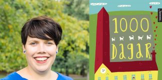 Inger Johanne Sæterbakk tar for seg forelsking, venskap og om det å vera på veg frå barndom til å bli meir vaksen i boka 1000 dagar. Foto: Stine Friis Hals/Aschehoug