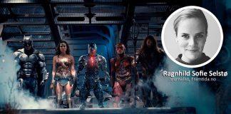 Til og med Aquaman har meir klede på seg enn Wonder Woman i filmen «Justice League». Foto: Filmweb