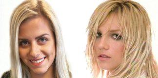 Linda Watten (til venstre) er stor fan av Britney Spears (til høgre). Foto: Privat/skjermdump frå YouTube