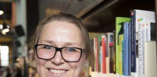Olaug Nilssen er nominert til Ungdommens kritikarpris for romanen Tung tids tale. Foto: Terje Pedersen / NTB scanpix/ NPK