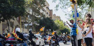 Sjølvstendedagen blir feira i den katalanske hovudstaden Barcelona.
