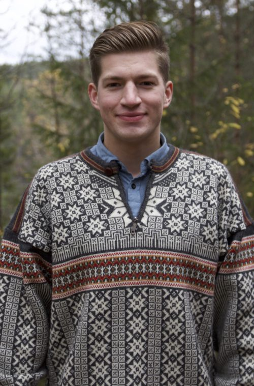 Knut André Sande (21) er leiar i Europeisk Ungdom.
