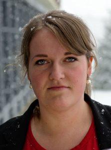 Eline Bjørke er skrivar i Norsk Målungdom. Foto: NMU