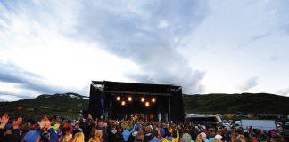 Vinjerock utseld på ein blunk, i år igjen. Foto: Tor Amundsen / Vinjerock