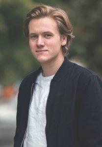 Sondre Hansmark, leiar i Unge Venstre.