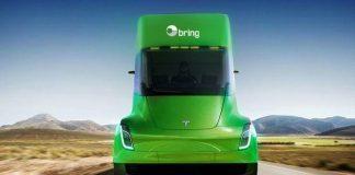 Produksjonen av Tesla Semi skal etter planane starte i 2019.