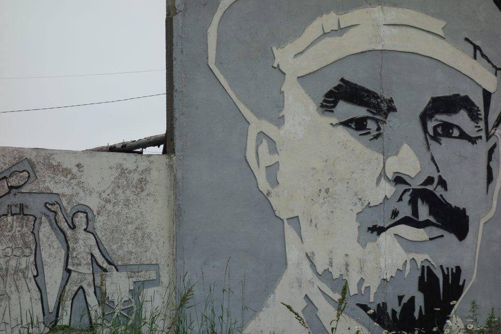 Lenin i Yuzhno-Sakhalinsk, Russland.