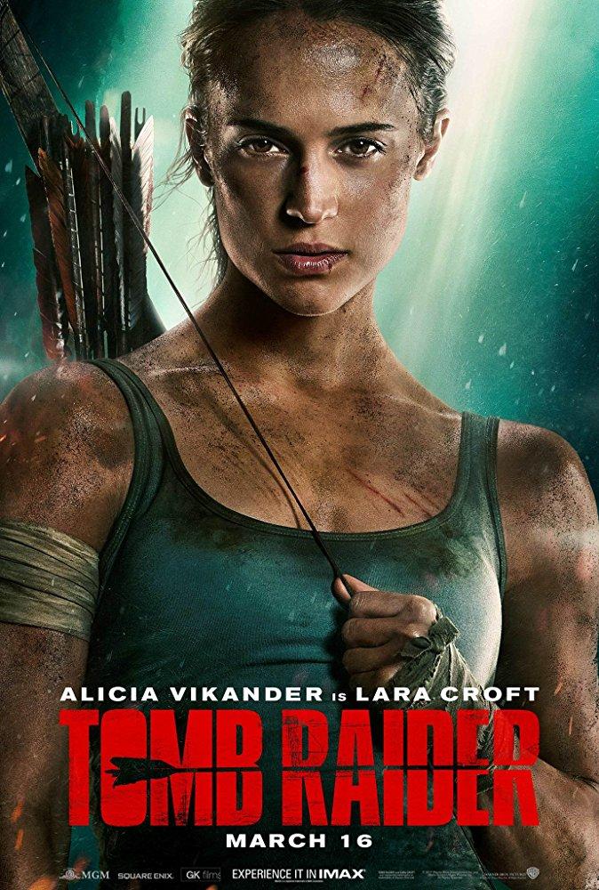 Alicia Vikander speler rolla som Lara Croft i den komande «Tomb Raider»-filmen regissert av Roar Uthaug. IMBD