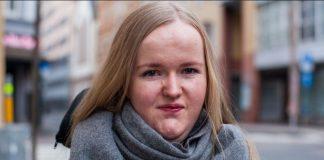 Synne Lerhol, Unge funksjonshemmas landsforeining. Foto: Markus Søgård