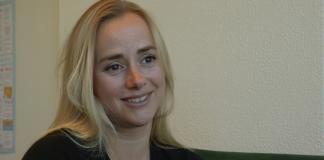 Tale Maria «Helsesista» Krohn Engvik. Foto: Skjermdump YouTube/Redd Barna.