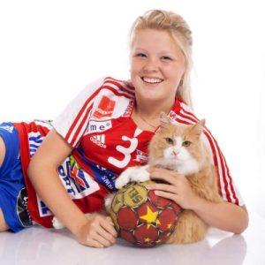 Bilde frå bloggen til Vilde Wedø Jektvik. «Sett dei positive tankane på repeat», var mottoet hennar.