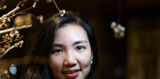 Portrett av Jane Lu (27), ein av leiarane i Lean In Taiwan.