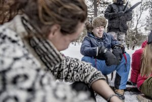 Bilde frå ein av turane. Foto: Norsk Mestring