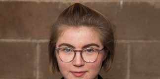Hulda Holtvedt er Nasjonal talsperson for Grøn Ungdom. Foto: Grøn Ungdom