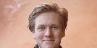 Sondre Hansmark, leiar i Unge Venstre