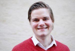 Tobias Drevland Lund er leiar i Raud Ungdom Foto: Frida Ropphaugen