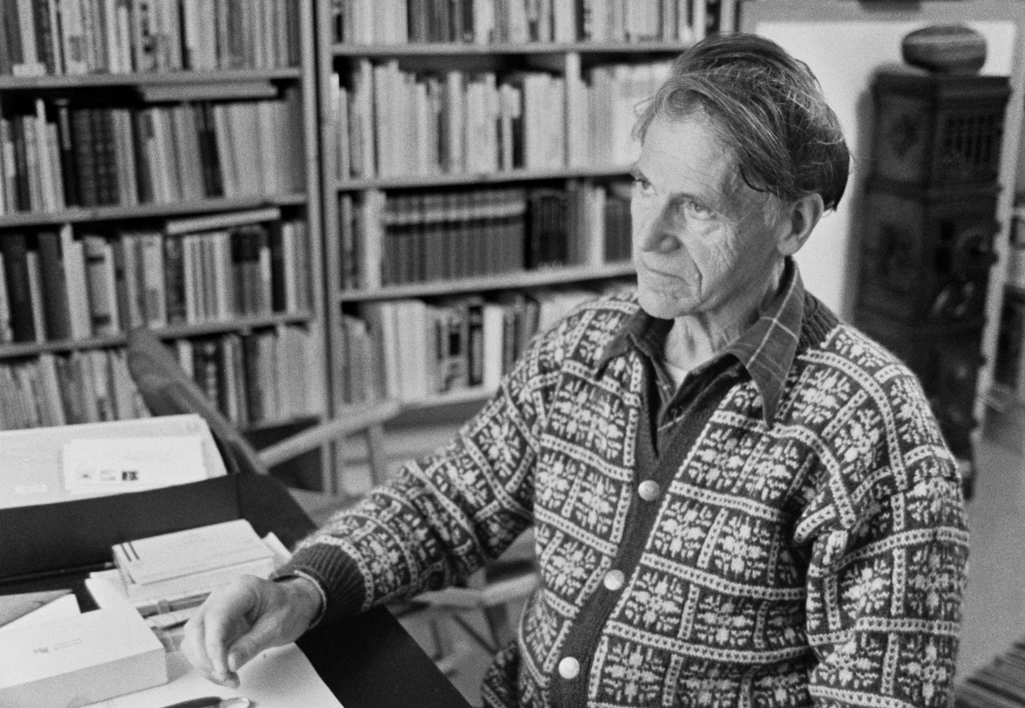 Olav H. Hauge. Foto: Odd Nerbø