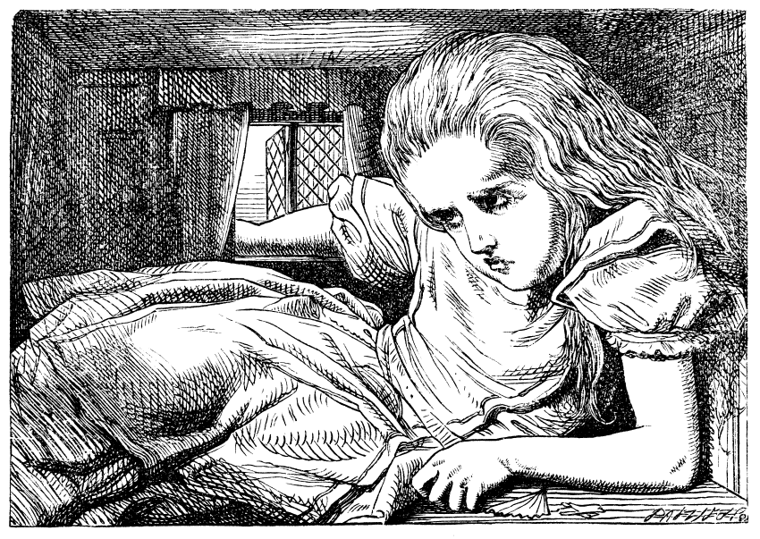 Alice i Eventyrland-syndromet er oppkalla etter Lewis Carols roman frå 1800-talet. Nokon meiner at han skreiv historia basert på eigen erfaring med storleik-hallusinasjonar. Lewis skal nemleg ha hatt migrene.