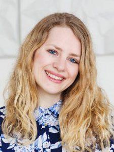 Jorunn Thingnes er no stipendiat ved Senter for fleirspråklegheit, UiO. Foto: Nadia Frantsen/UiO