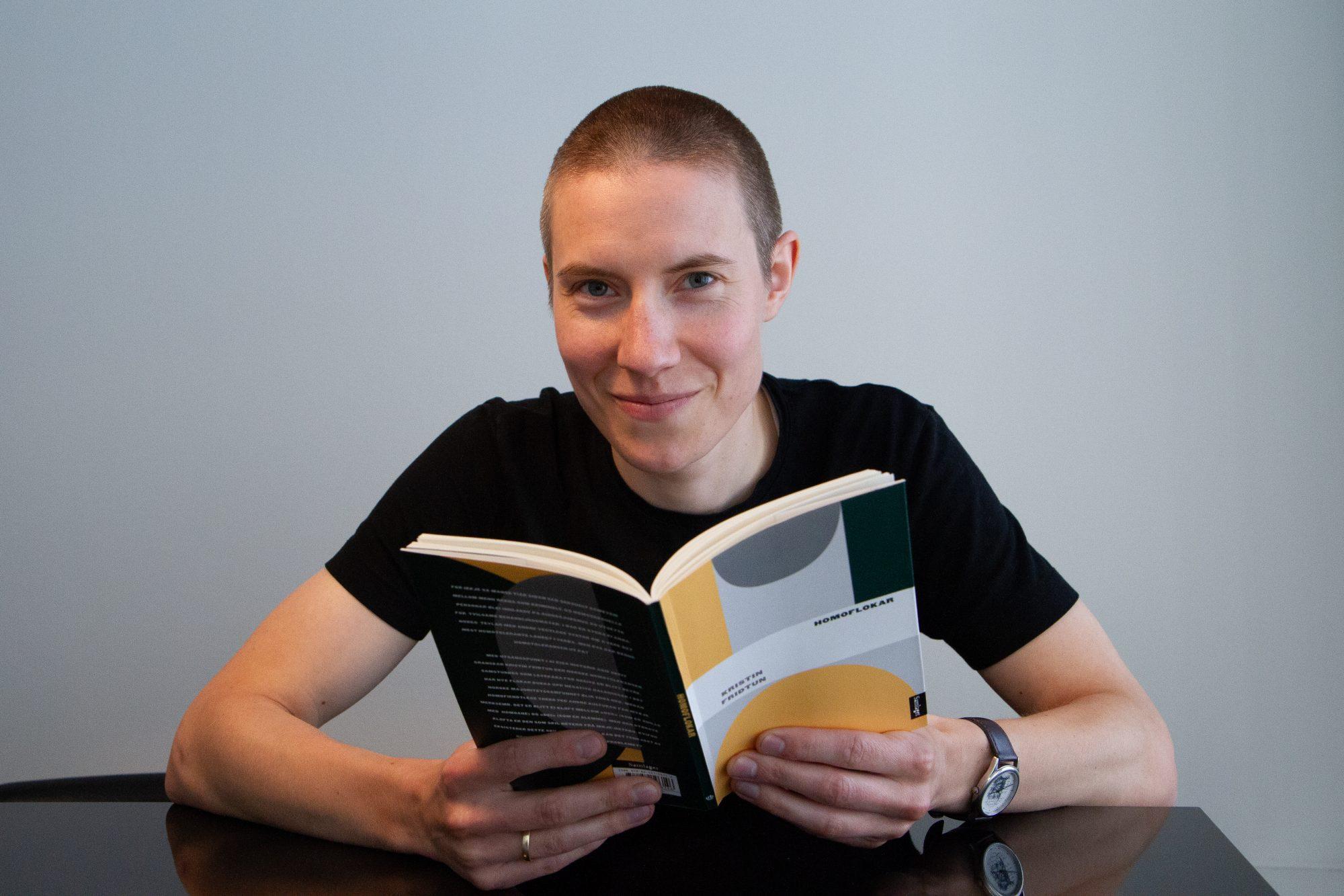Kristin Fridtun hadde ei begrensing på 60.000 teikn med mellomrom da ho skulle skrive «Homoflokar» . Foto: Beate Haugtrø