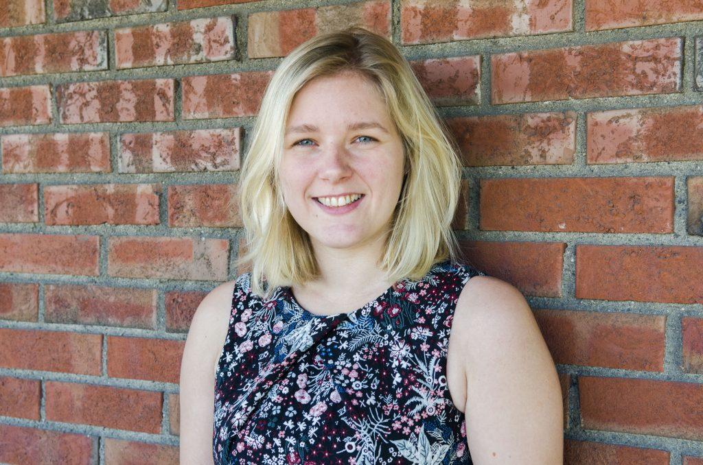 Caroline Piasecka (27) jobbar i dag i som Buisness Development Manager i Viasat Norway. Ho rår fleire til å reisa utanlands for å satsa på idrett parallelt med studier.