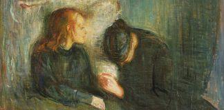 """""""Det syke barn"""" av Munch."""