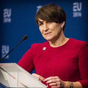 Lillianne Ploumen i 2016. Foto: Den nederlandske regjeringa/Valerie Kuypers