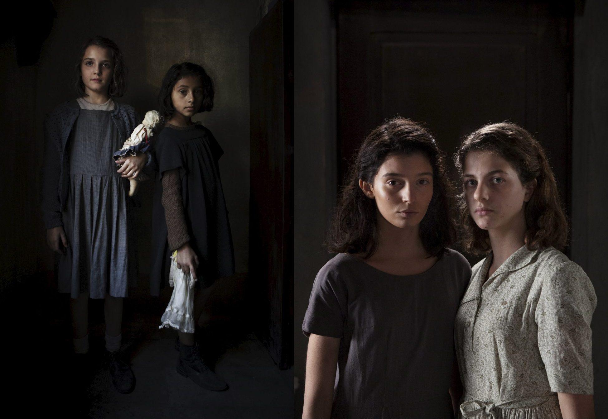 Som barn spilles Elena Greco av Elisa Del Genio, venninnen Raffaella Lila Cerullo av Ludovica Nasti, før tenåringsrollene overtas av Margherita Mazzucco og Gaia Girace. Foto: HBO / Handout