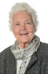 Astrid Nøklebye Heiberg (82) vart fast representant på Stortinget for Oslo Høyre etter at Nikolai Astrup gjekk inn i regjeringa . Foto: Hans Kristian Thorbjørnsen, Høyre