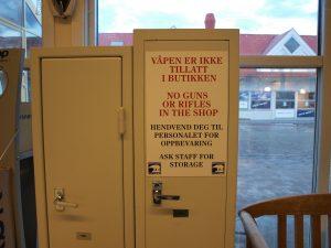 svalbard, svalbardbutikken, våpenskap