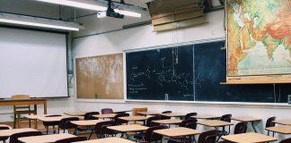 klasserom, klasse, skule