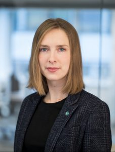 Forskings- og høgare utdanningsminister Iselin Nybø (V) vil at fleire skal fullføra graden. Foto: Marte Garmann
