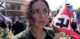 """Deeyah Khan (bildet) er med sin nyeste dokumentar """"White Right: Meeting The Enemy"""" i ferd med å pådra seg en sterk liste over priser, nå sist en internasjonal nyhets-Emmypris. Foto: Fuuse Films / Handout"""