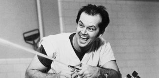 Jack Nickolson i klassikaren «One Flew Over The Cuckoo's Nest».