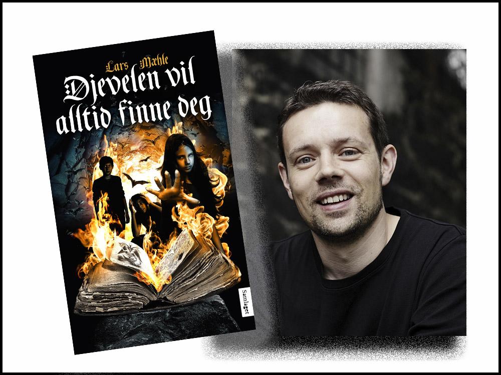 Omslag for boka Ny grøssarbok av Lars Mæhle