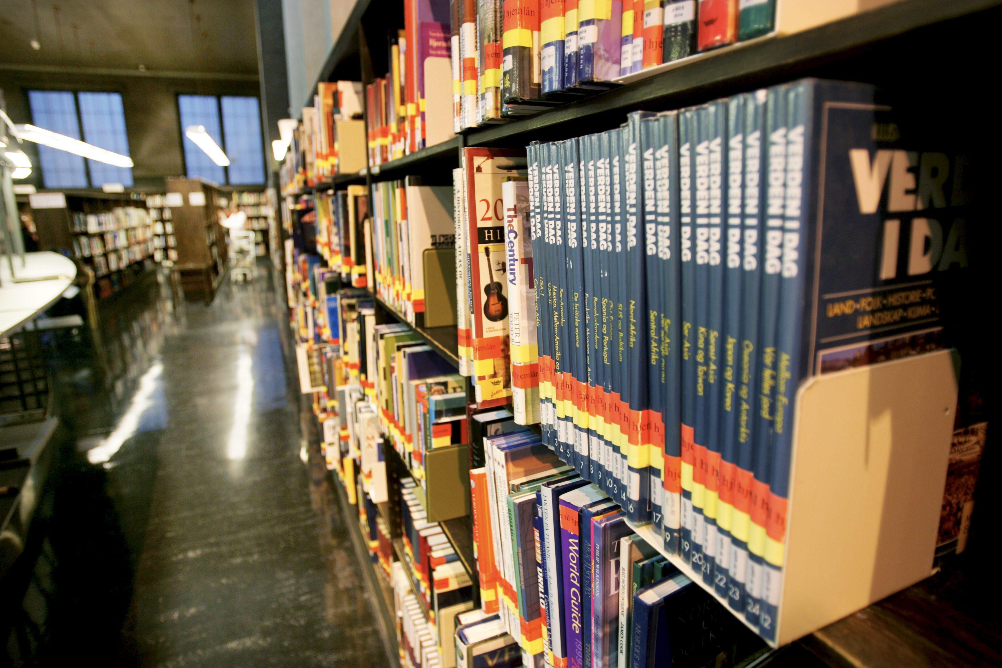 Folkebiblioteka tilbyr meir enn bøker. I 2017 var det nesten 50.000 arrangement i folkebiblioteka. Foto: Ørn E. Borgen / NTB scanpix / NPK