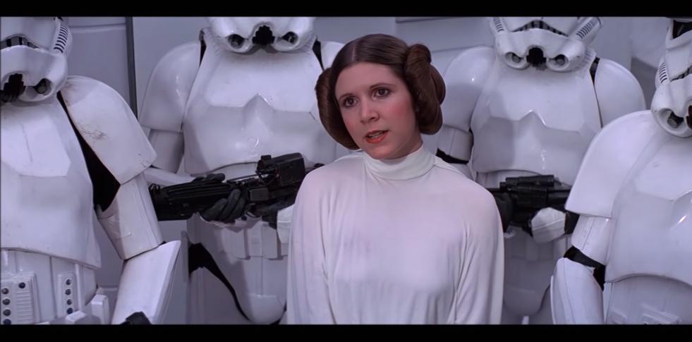 Star Wars Kvinnene Kler Av Seg Makta